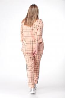 Брючные костюмы /комплекты Анастасия Мак 639 персиковый фото 3