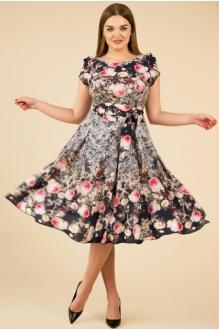 Teffi Style 721 -3 розовые цветы2