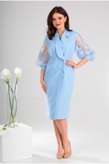 *Распродажа Мода-Юрс 2421 голубой