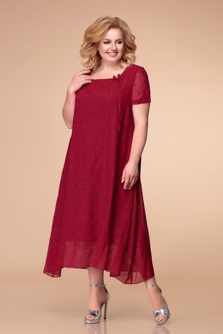 *Распродажа Romanovich Style 1-1332 бордо с вышивкой (дефект)