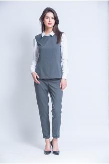 Ivera Collection 662 серый в мелкую полоску