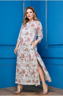 Anastasia 312 серый в розы