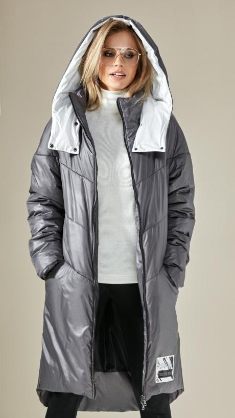 DiLiaFashion 0236 серый/белый