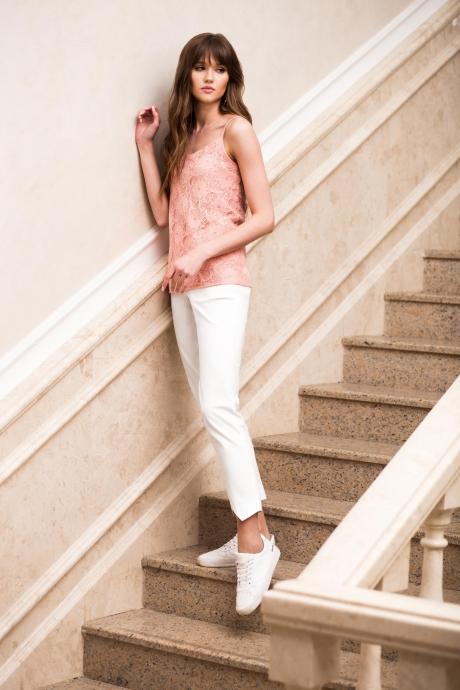 Juanta 1146 розовое кружево