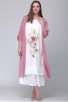 *Распродажа SOVA 11037 бл.розовый-молочный