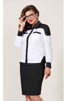 Vittoria Queen 8713 белый+черный
