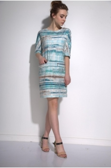 *Распродажа PUR PUR 01-573 голубой орнамент