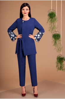 Мода-Юрс 2462 синий + голубой