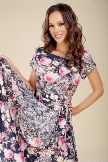 Teffi Style 721 -3 розовые цветы1