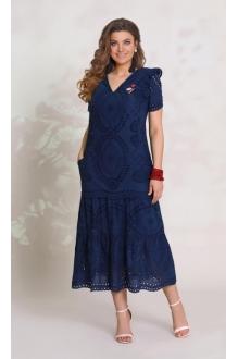 *Распродажа Vittoria Queen 9233 -1 синий с украшением
