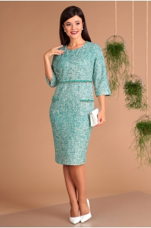 Мода-Юрс 2448 зелёный меланж