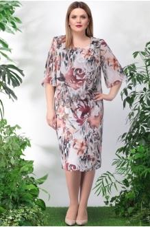 *Распродажа LeNata 11897 коричневые цветы