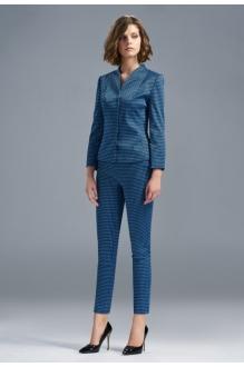 *Распродажа SOLEI 3263 брюки синий ромбик