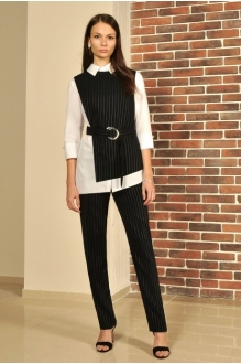 *Распродажа МиА-Мода 956 -1 черный в полоску