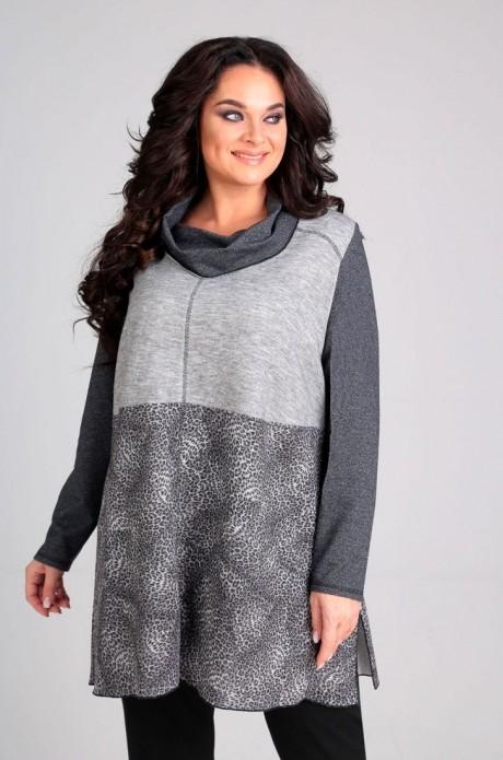 *Распродажа Таир-Гранд 62241 серый+леопард