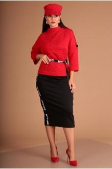 *Распродажа Мода-Юрс 2440 красный +черный