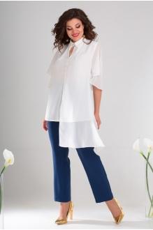 *Распродажа Мода-Юрс 2486 белый + синий