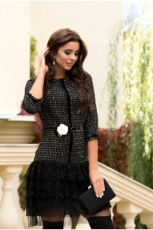 *Распродажа Buter 749 платье+брошь