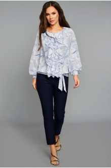 *Распродажа Teffi Style 1207 волна на белом