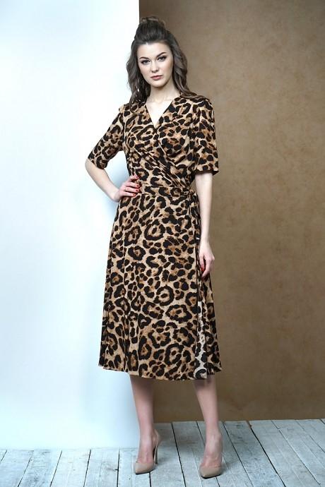 *Распродажа Fantazia Mod 3387 бежево-коричневый леопард
