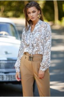 *Распродажа KALORIS 1515 блузка белый