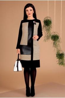 *Распродажа Мода-Юрс 2457 чёрный + беж