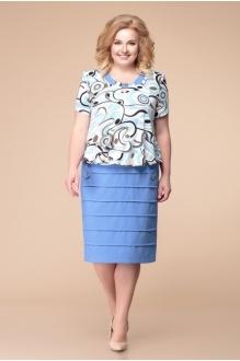 *Распродажа Romanovich Style 1-1084 голубые тона