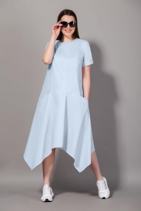 Платье Сч@стье 7064 -5 голубой размер 42-72, описание, отзывы