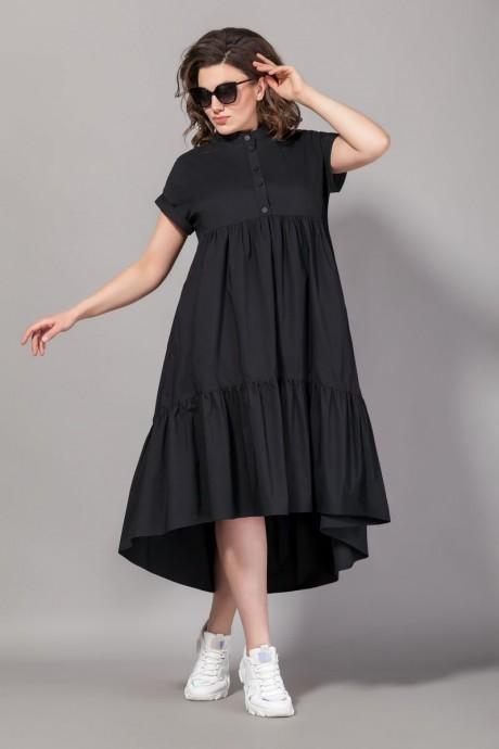 Платье Сч@стье 7067 чёрный размер 56-72, описание, отзывы