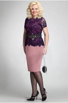 *Распродажа Matini 1.486 розовый/синий гипюр