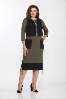 Lady Style Classic 1935/1 жилет +платье
