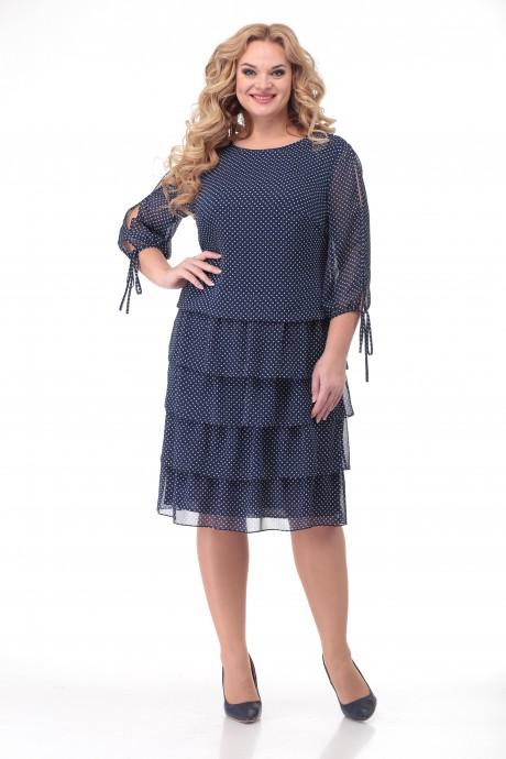 Платье Кэтисбел 1503 мелкий горох размер 50-60, описание, отзывы