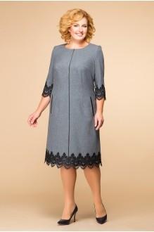 Последний размер Romanovich Style 1-1284 серый/кружево черное