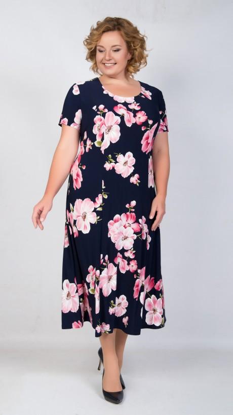 TricoTex Style 04-18 розовые цветы