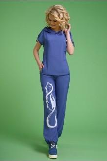 Последний размер Euro-moda 099 джинс аппликация