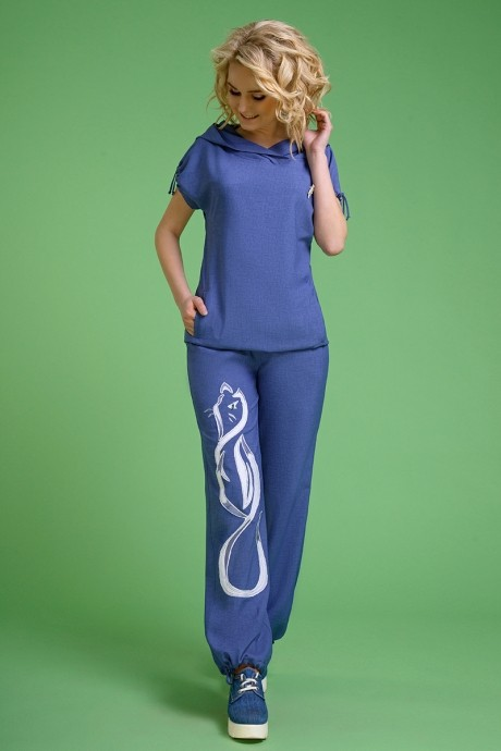 Ликвидация Euro-moda 099 джинс аппликация