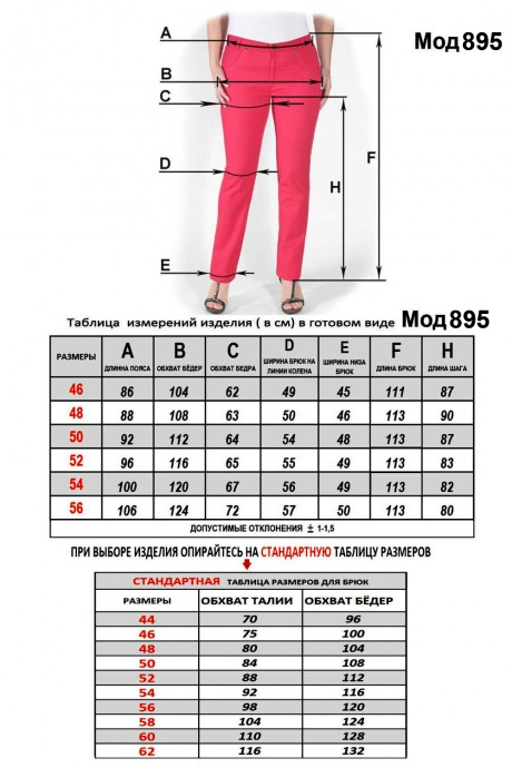 Последний размер Mirolia 895