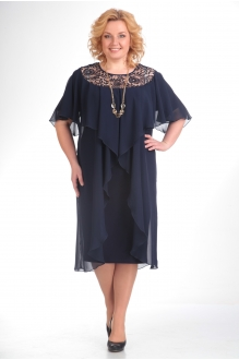 Вечерние платья Прити 168 темно-синий фото 1