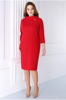 Деловые платья Магия Моды 733 красный фото 2