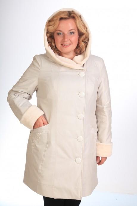 Куртки Люана Плюс 370 (1) бледно-розовый