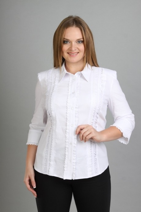 Блузки и туники Таир-Гранд 62106 (1) белый