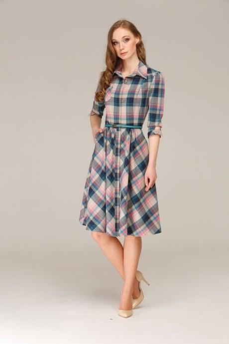 Повседневное платье Анна 826col2