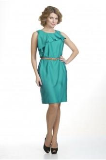 Летние платья Лиона-Стиль 427 изумруд фото 1
