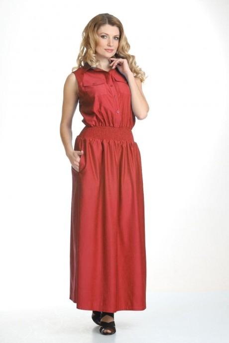 Длинные платья Лиона-Стиль 430 красный