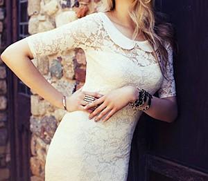 Платье с воротником: возвращение