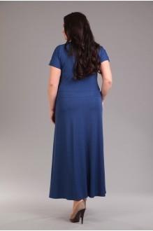 Длинные платья Лиона-Стиль 517 синий фото 2