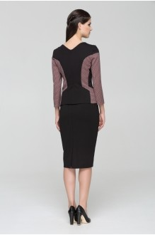 Юбочные костюмы /комплекты Nova Line 2439.3347 розовый/черный фото 2