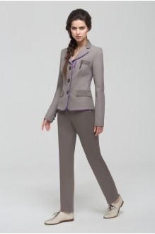 Брючные костюмы /комплекты Nova Line 1406.4161 гусиная лапка/серый фото 1