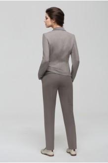 Брючные костюмы /комплекты Nova Line 1406.4161 гусиная лапка/серый фото 2