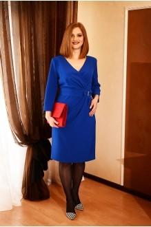 Вечерние платья Ладис Лайн 683 синий  фото 1